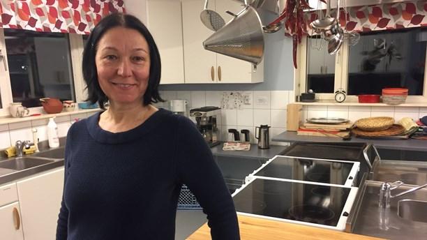 Tatjana trivs i kollektivhuset Vildsvinet, Ladugårdsängen i Örebro