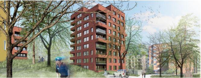 Nytt kollektivhus byggs i Stockholm