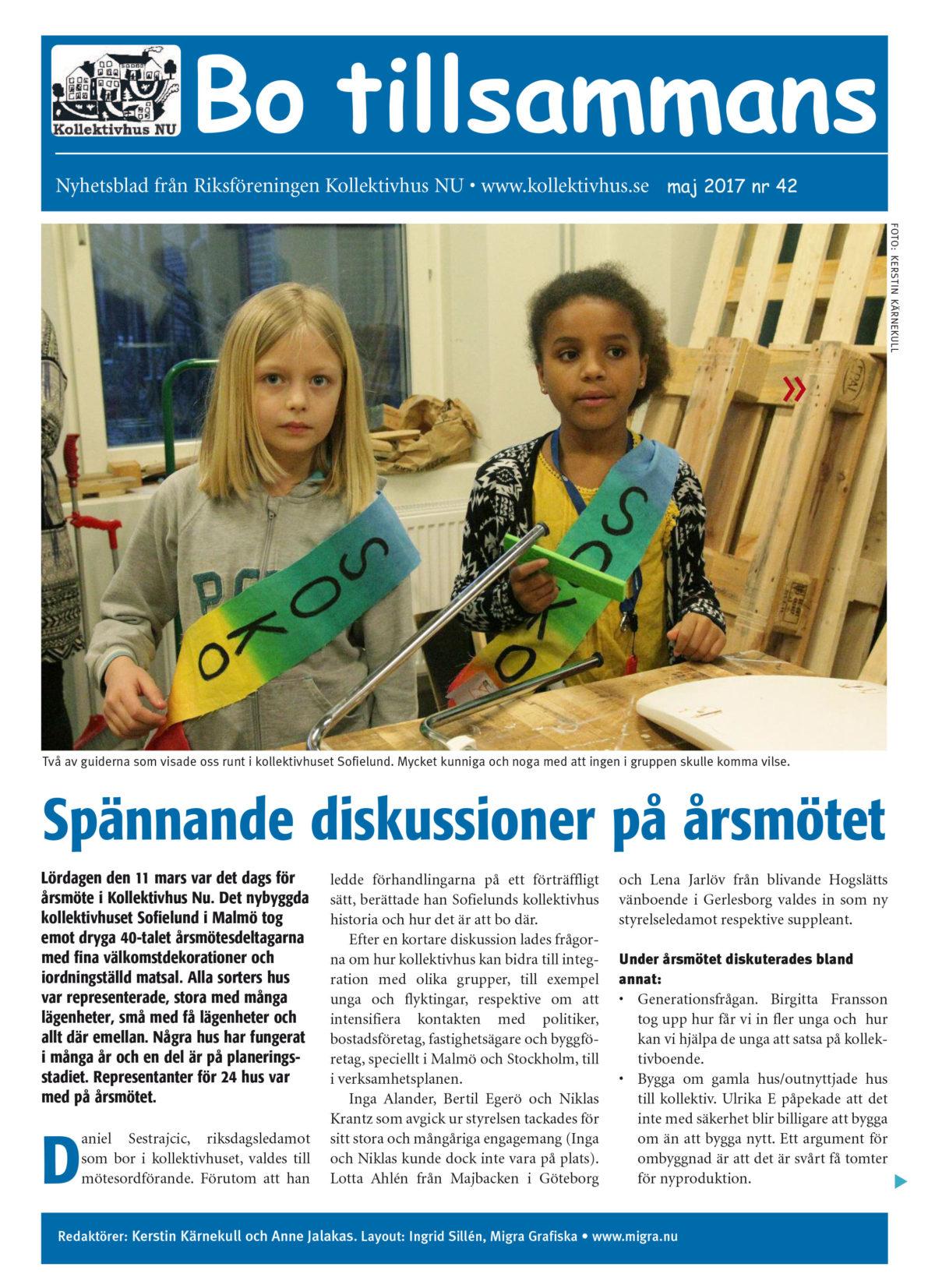 Bo Tillsammans nr 42 maj 2017