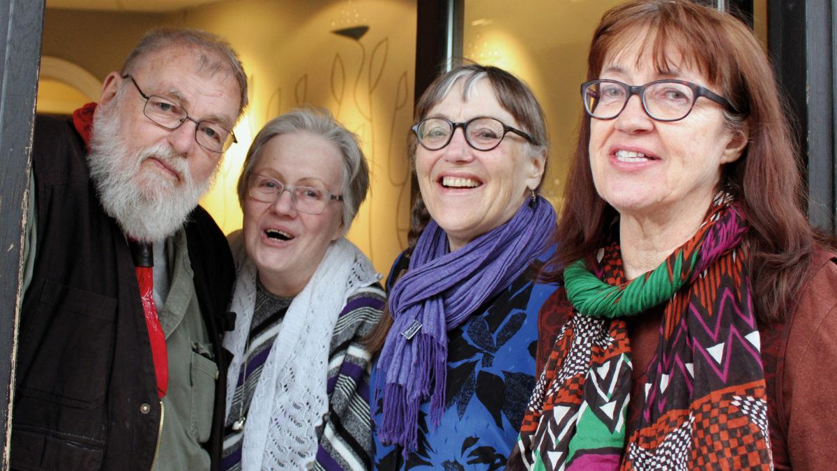 De kämpar för ett kollektivhus i Umeå