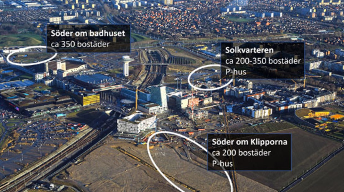 ETC Bygg får markreservation i Malmö