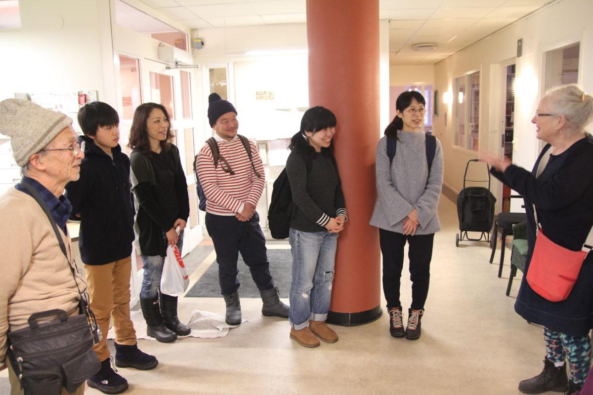 Japanskt studiebesök i Uppsala och Stockholm