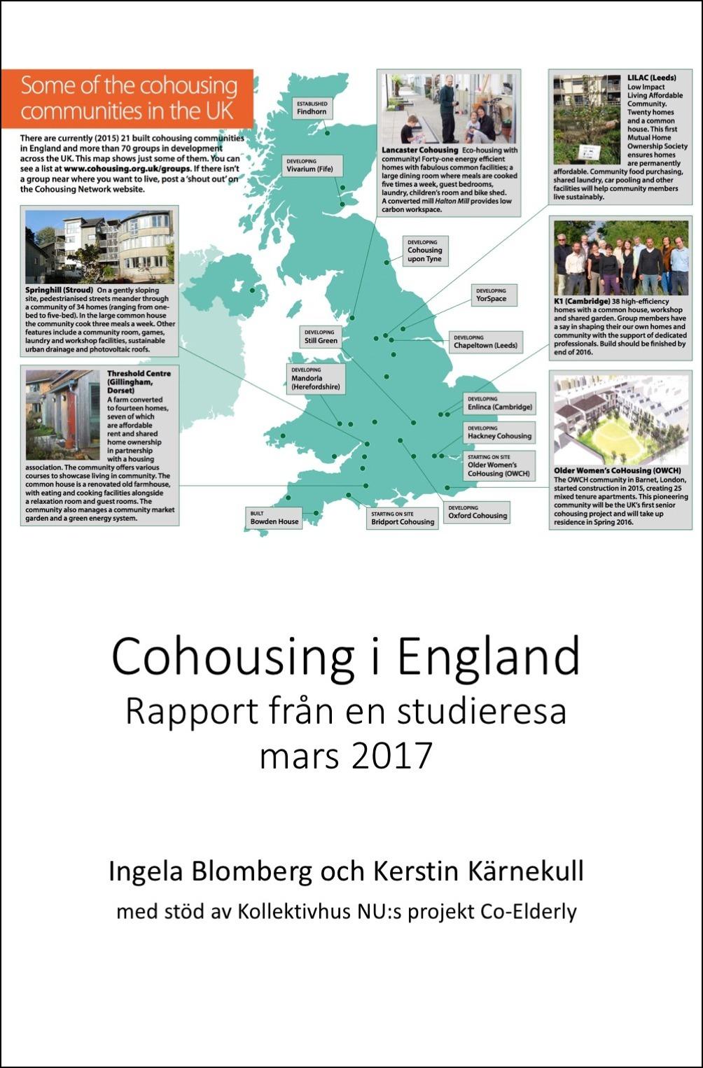 Ny rapport om cohousing i England