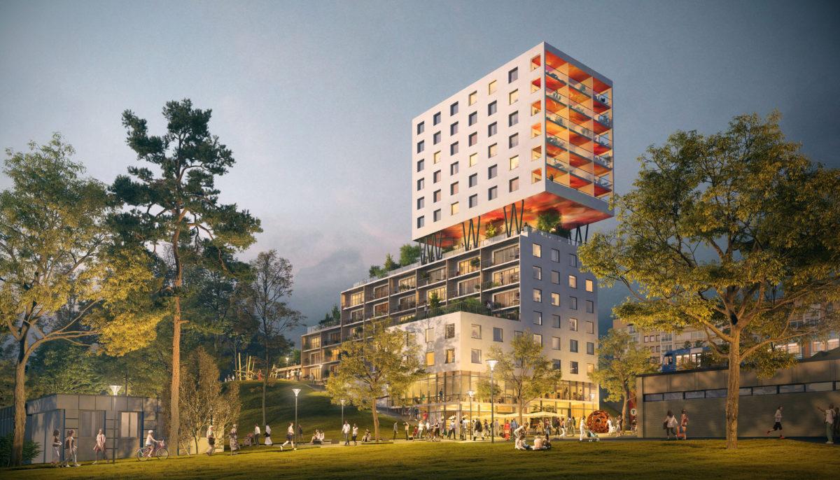 Kollektivhus ska byggas i Hagsätra!