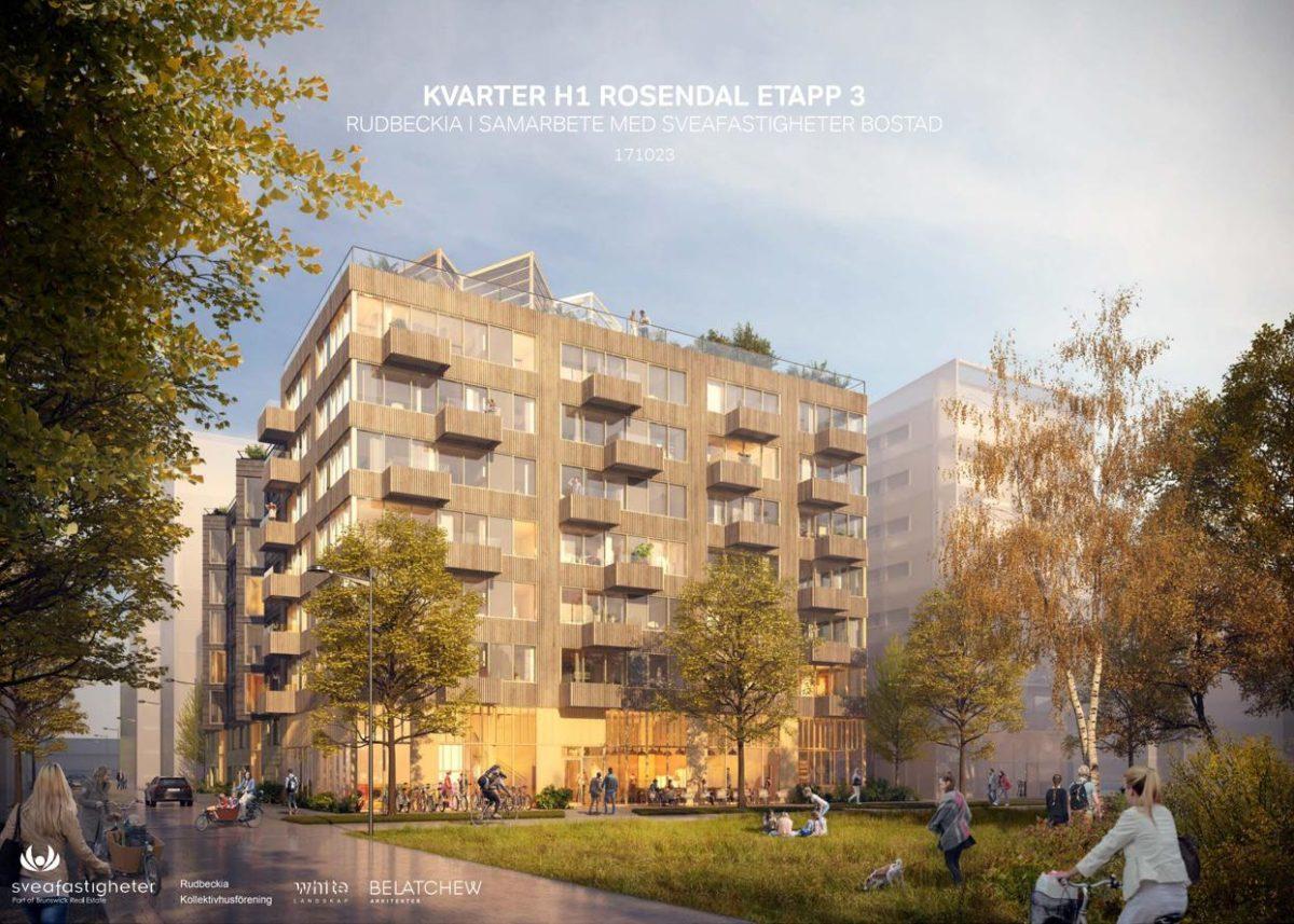 Lägenheter i Rudbeckia, Uppsala