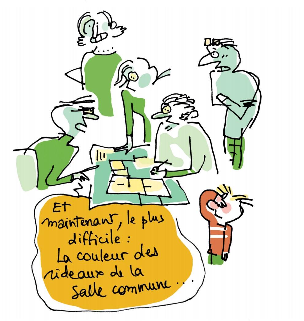 Bygg- och bogemenskaper i Belgien och Frankrike (och Tyskland + Danmark)