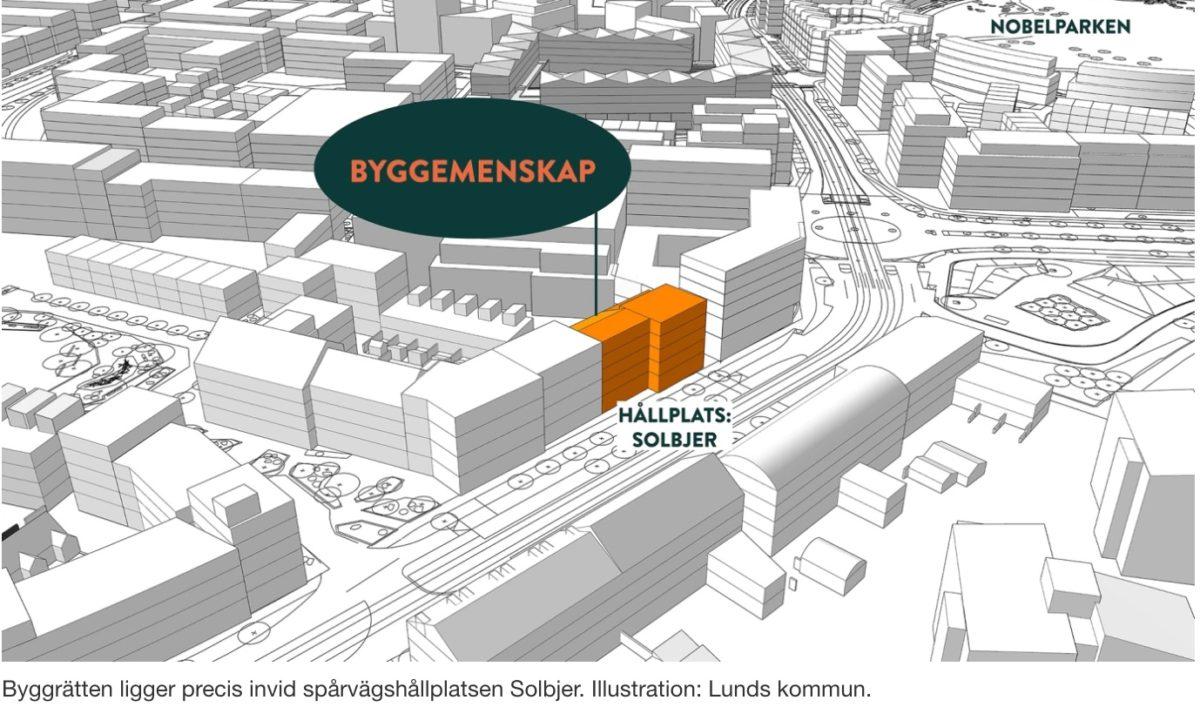 Lund får byggemenskap
