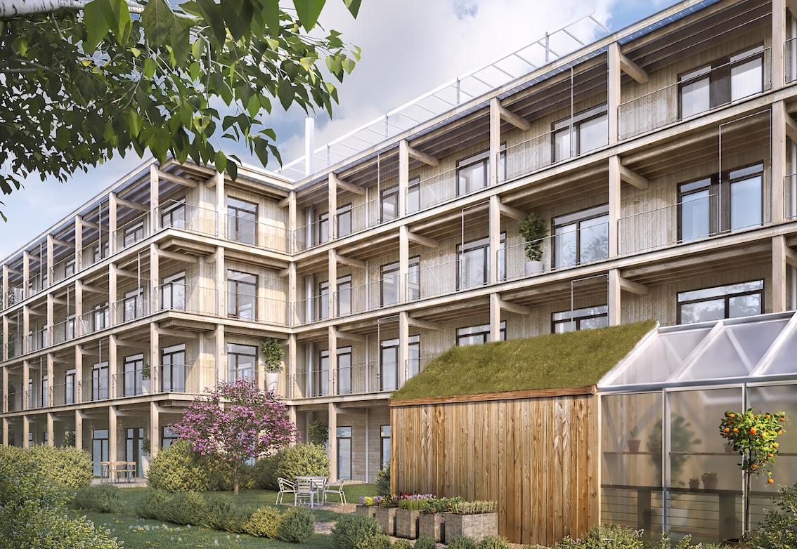 Chans att flytta in i Gården i Uppsala 2021
