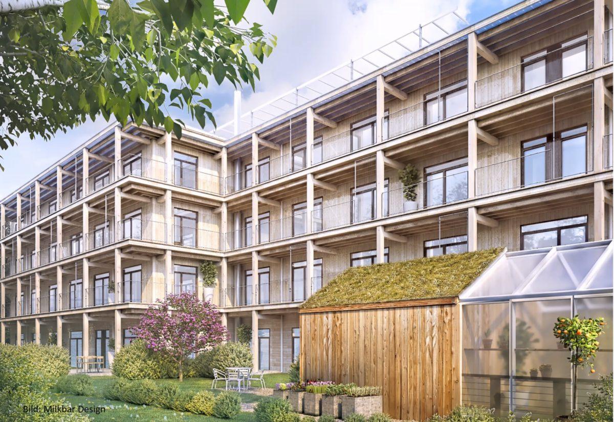 Byggstart för Gården i Uppsala
