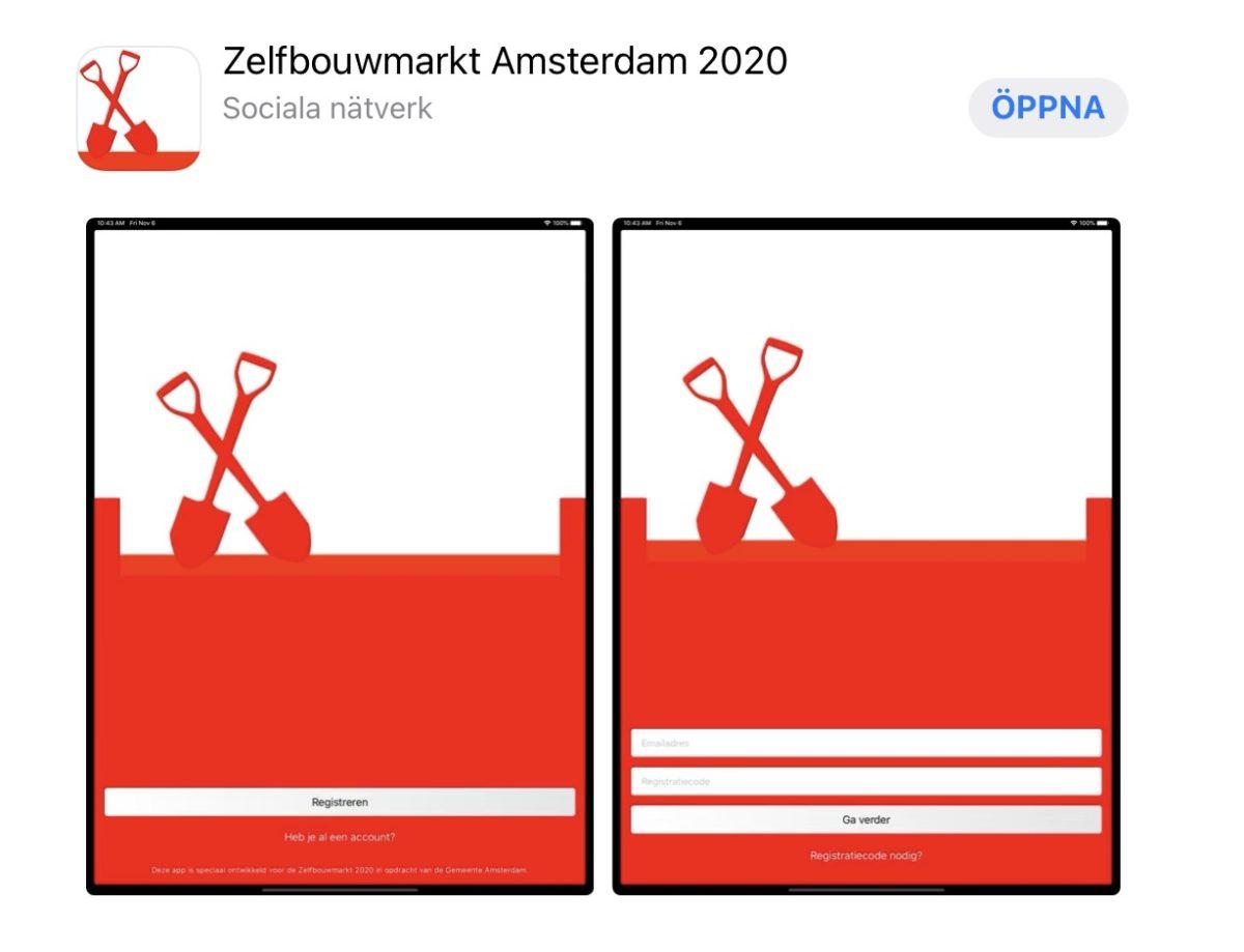 Zelfbouwmarkt Amsterdam – en marknad för bygg- och bogemenskaper samt självbyggeri