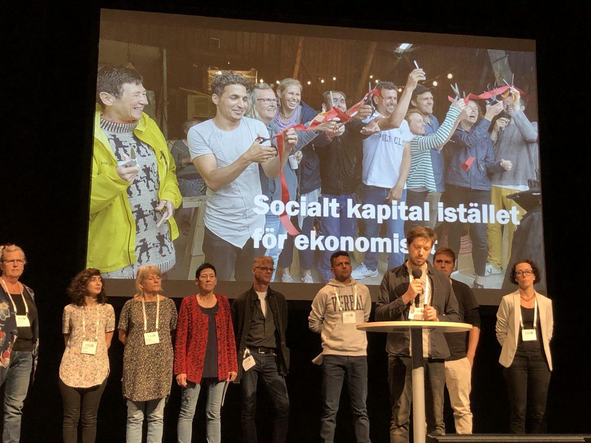 Socialt byggande i Floda 18-19 november